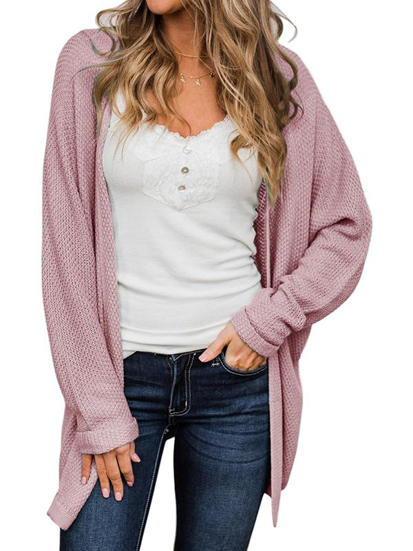Bonnieshoes Loose Casual Sweater Cardigan