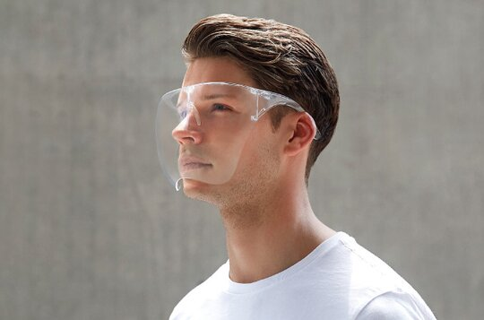 2020NEW/WolrdWide Shipping/Anti-fog material-Transparent Glasses