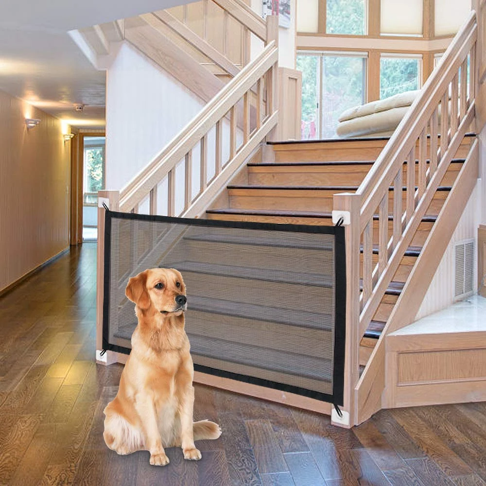 (LAST DAY PROMOTION 50% OFF!)PORTABLE KIDS &PETS SAFETY DOOR GUARD