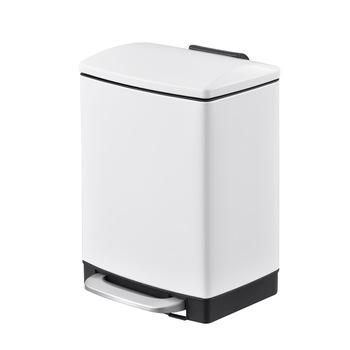 Household recycling stainless steel portable colored metal trash can with logo trash can-1.20