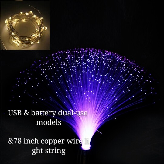 ❤️Valentine's Day 50%OFF❤️Color changing fiber optic lamp