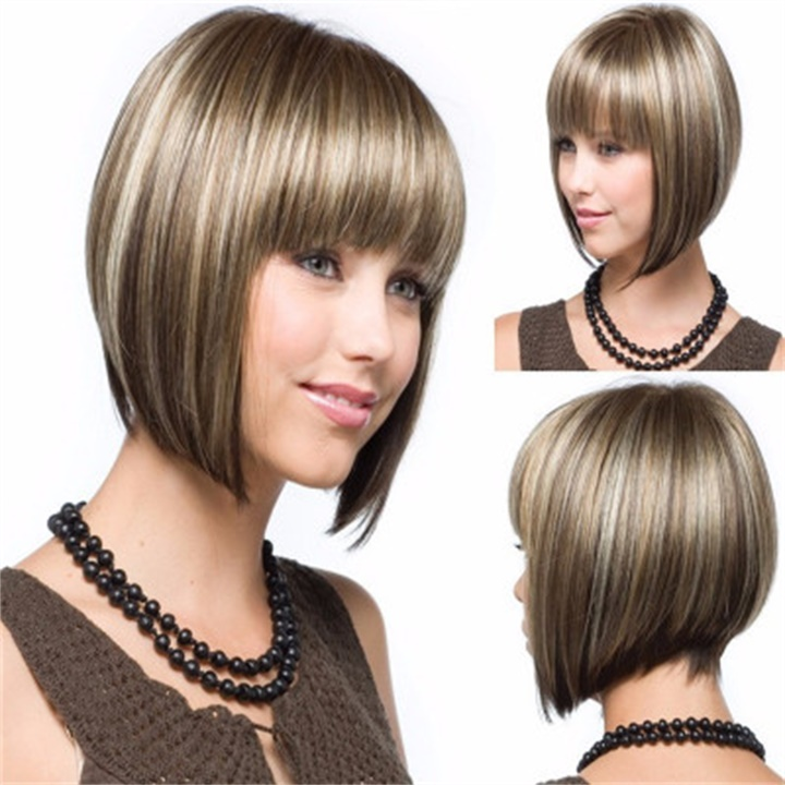 ✨New Sale 40% OFF ✨Gradient Color Qi Liu Haibo Bob Short Hair