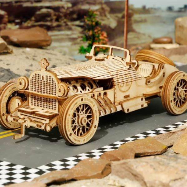 🌟Christmas Hot Sales🌟Wooden mechanical model puzzle