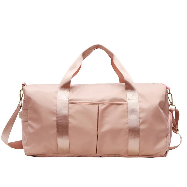 Travel Duffel Bag with Dry Wet Pocket & Shoes Pocket