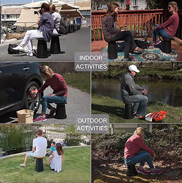 Portable Folding Stool - This Folding Stool Will Blow Your Mind!