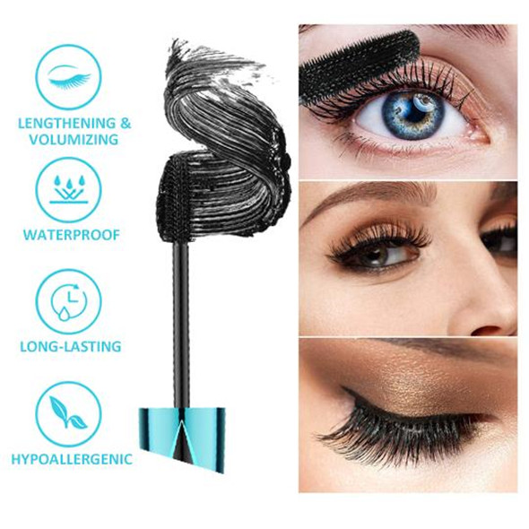 Only Today $9.99-QIC™ 2020 NEW 4D Waterproof Silk Fiber Thick Lengthening Mascara