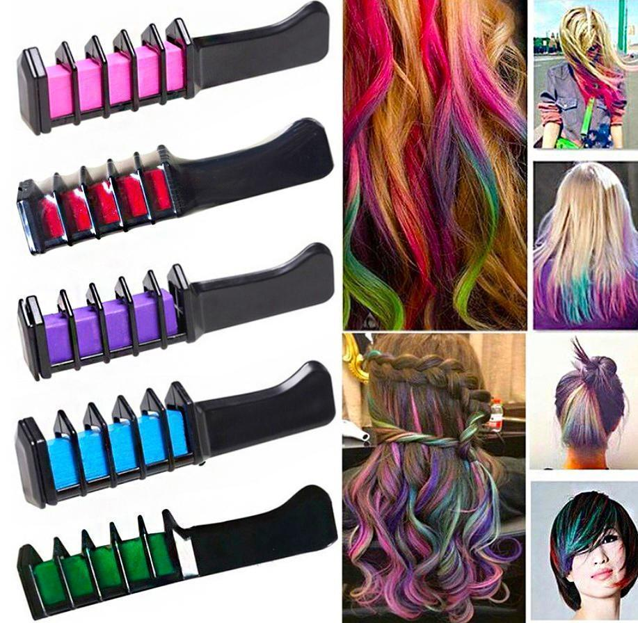 Beautifying Temporary Hair Dye Comb(6 Colors Only $15.99)