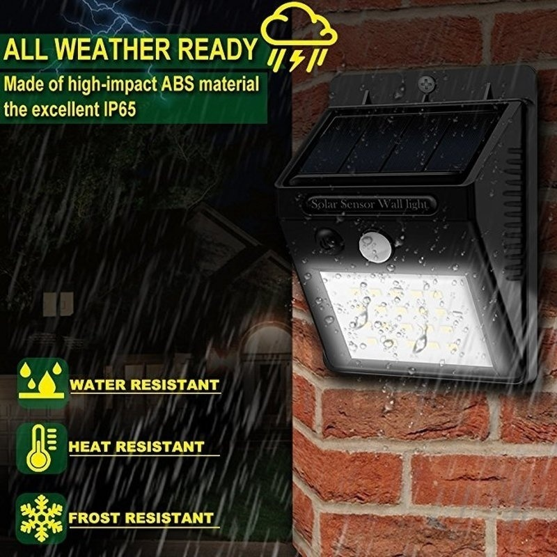 4/8Pcs Solar Wall Lights Outdoor Solar Powered Motion Sensor Security Light Waterproof Garden Lamps for Patio Deck Yard Pathway