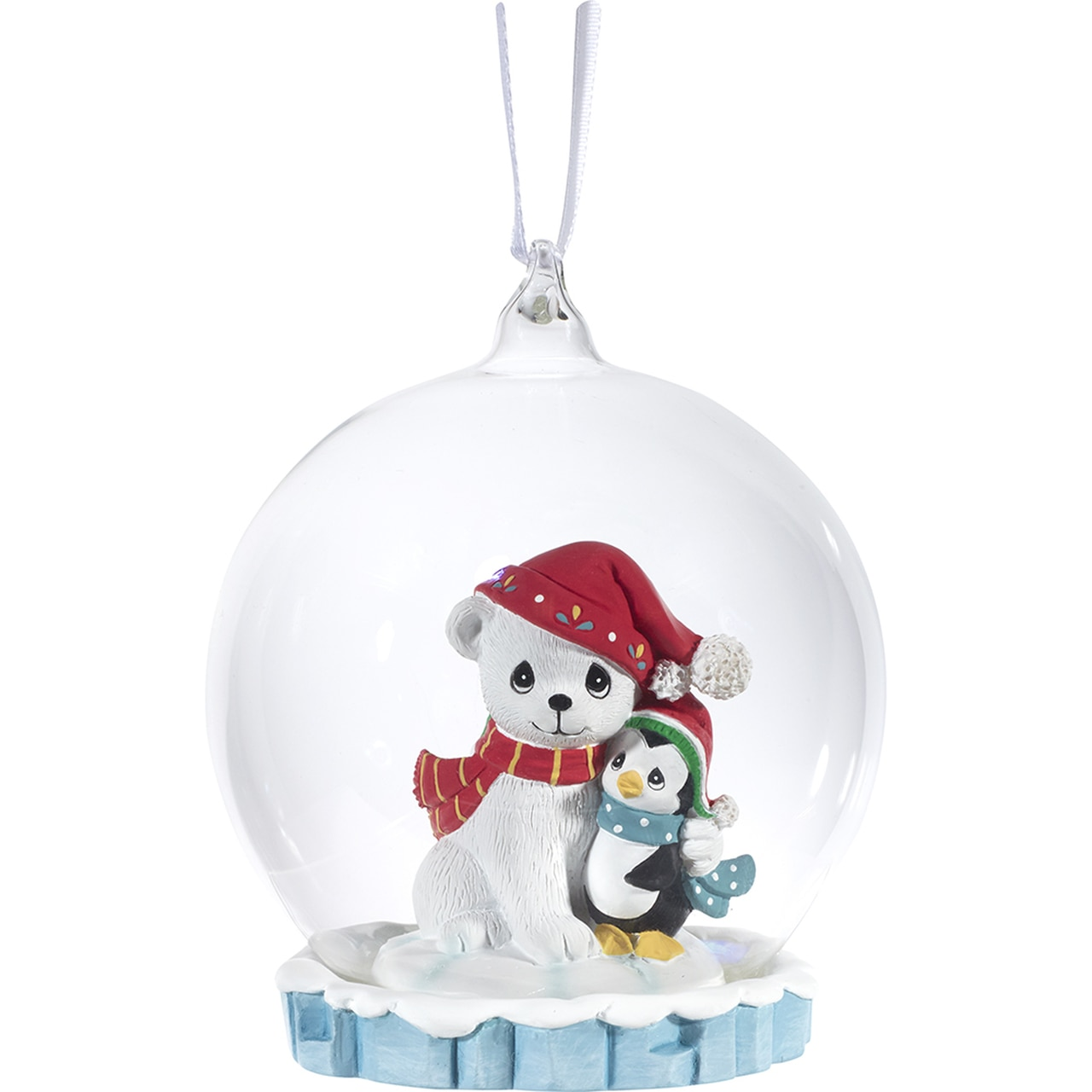 A Cold Day LED Ornament