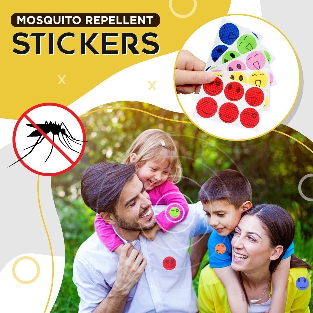 (LAST DAY PROMOTION-SAVE 50% OFF)Cartoon Mosquito Repellent Stickers