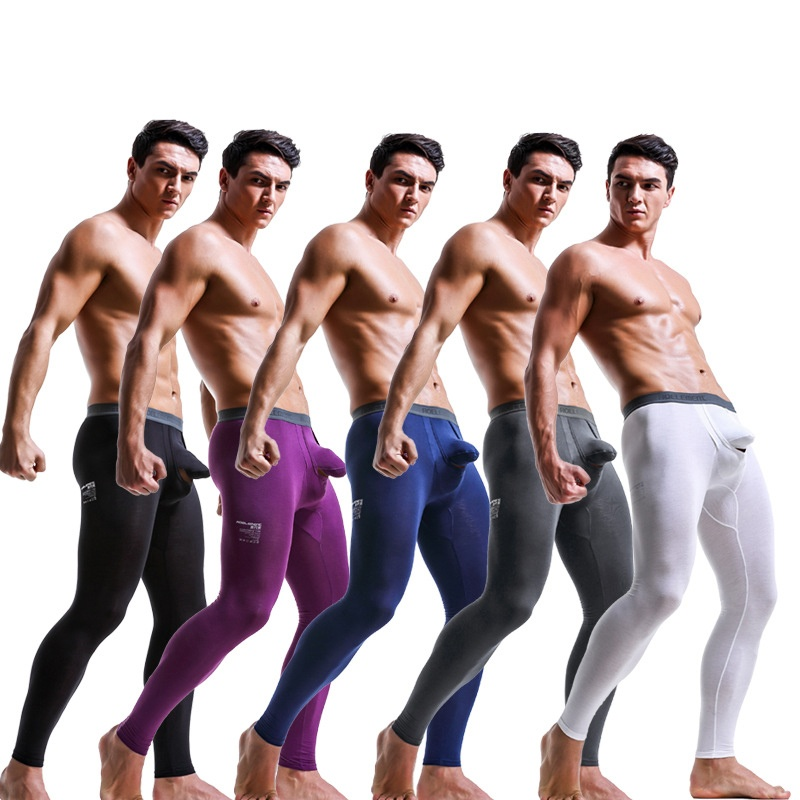U-shaped Detachable Scrotal Physiological Bullet Underwear Relief Design Breathing Free Mode Boxer Elephant Trunk Men's Sport Underwear