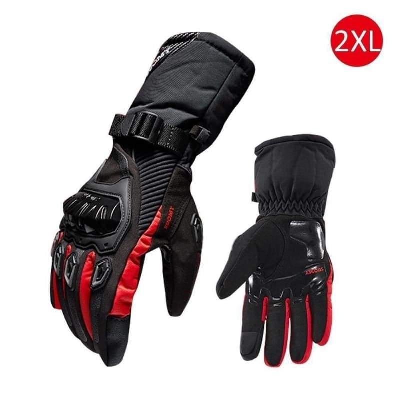 Men's Winter Thermal Outdoor Sports Waterproof and Windproof -30 /-40¡ãC Thermal Motorcycle Ski Snowboard Touch Screen Gloves
