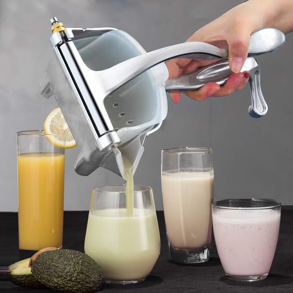 Manual Juice Maker Squeezer Aluminum Alloy Handy Fruit Presser
