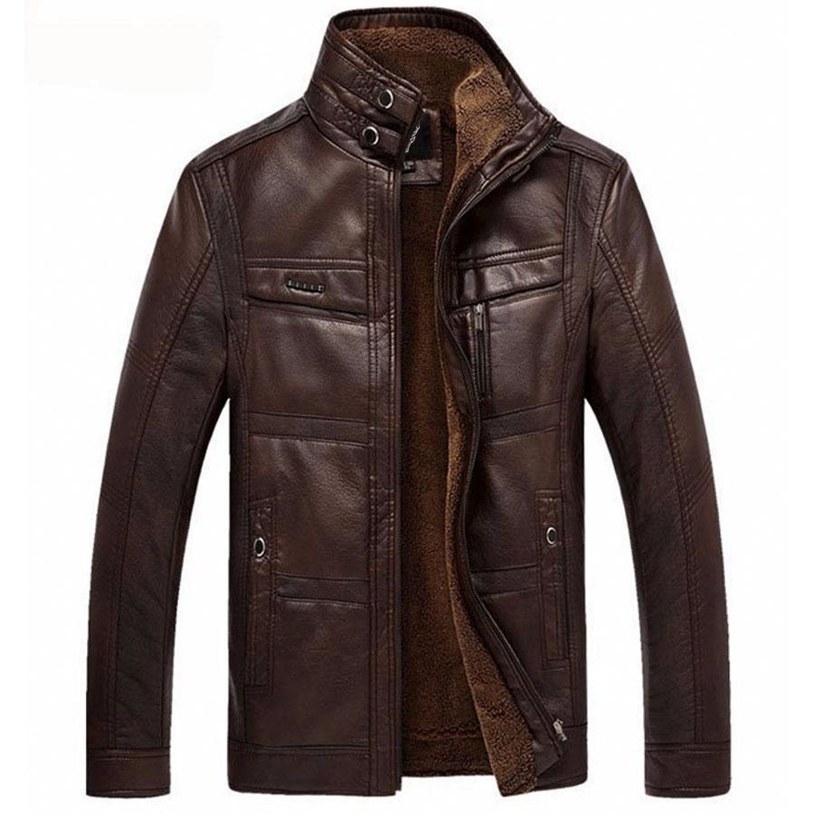 Outwear Winter Leather Jacket