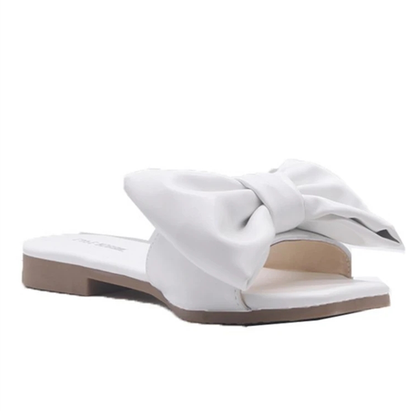 Upawear Bow Casual Slides Sandals