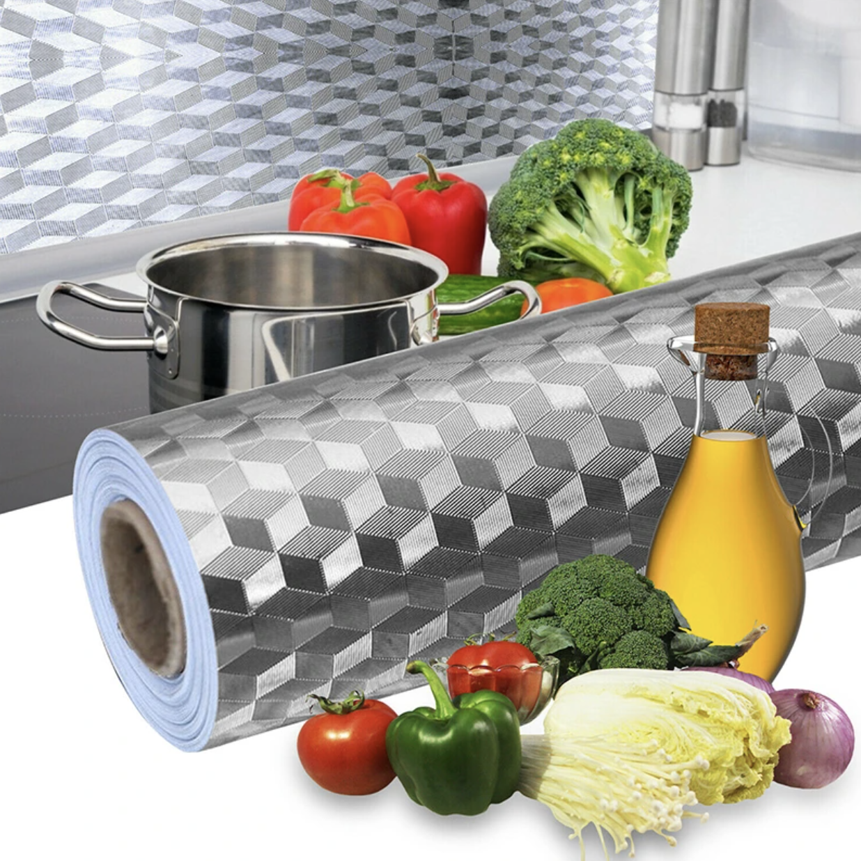 50% OFF---KitchenStick Foil | No more dirty spots in the kitchen