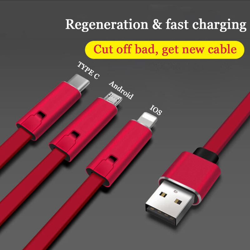 Repairable Fast Charging Data Cable