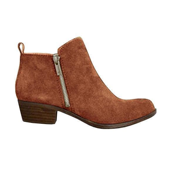 Upawear Plus Size Fall Vintage Boots