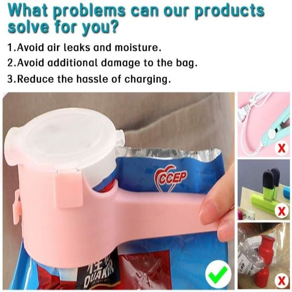 (New Year's Pre-Sale-Save 50% Off)Seal Pour Food Storage Bag Clip - Buy 6 Get 2 Free