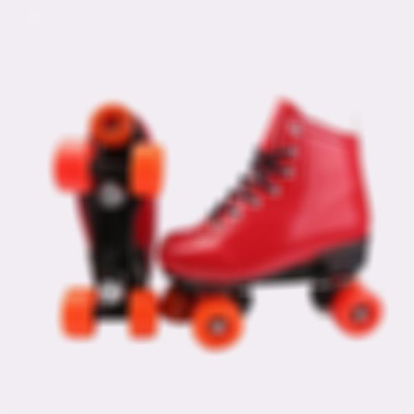 Roller Skates Double-row With Quad Rink Skates Fit Outdoor