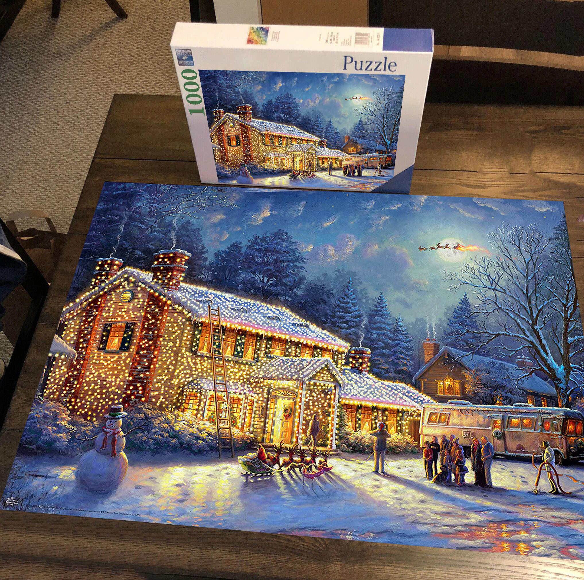 Big Price Cut Glowing house Jigsaw Puzzle 500/1000 Pieces - Limited Edition