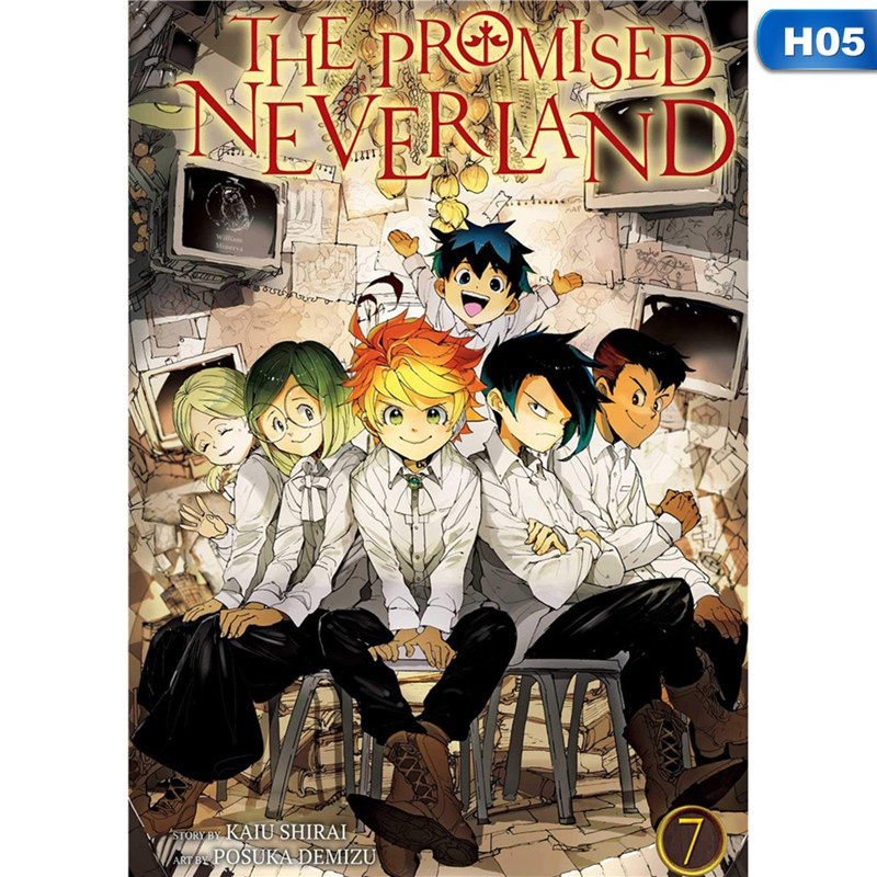 13 Styles 1Pcs Fashion Funny Japanese Anime The Promised Neverland Posters For Anime Fans