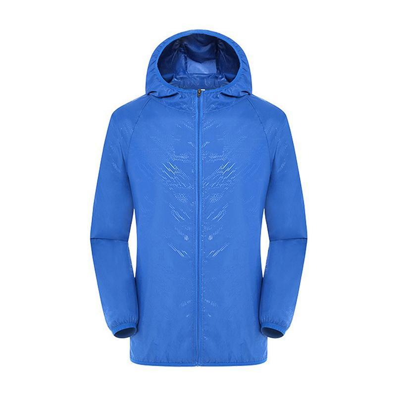 Super waterproof ultraviolet ray blocking wind coat