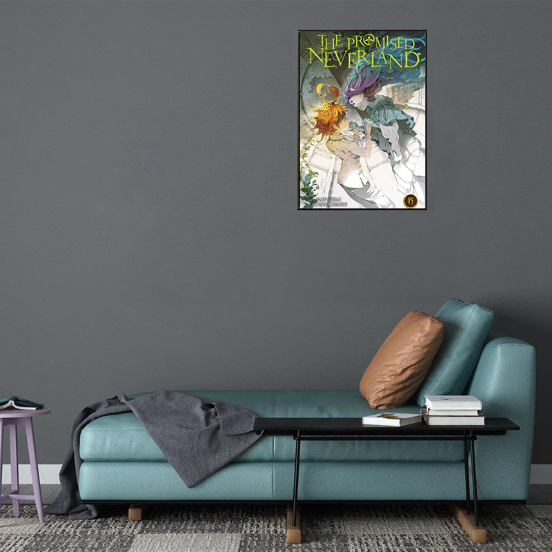 The Promised Neverland Anime Home Decor Painting Wall Poster