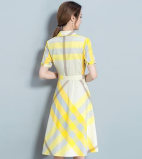 Figure-showing dress in 2019