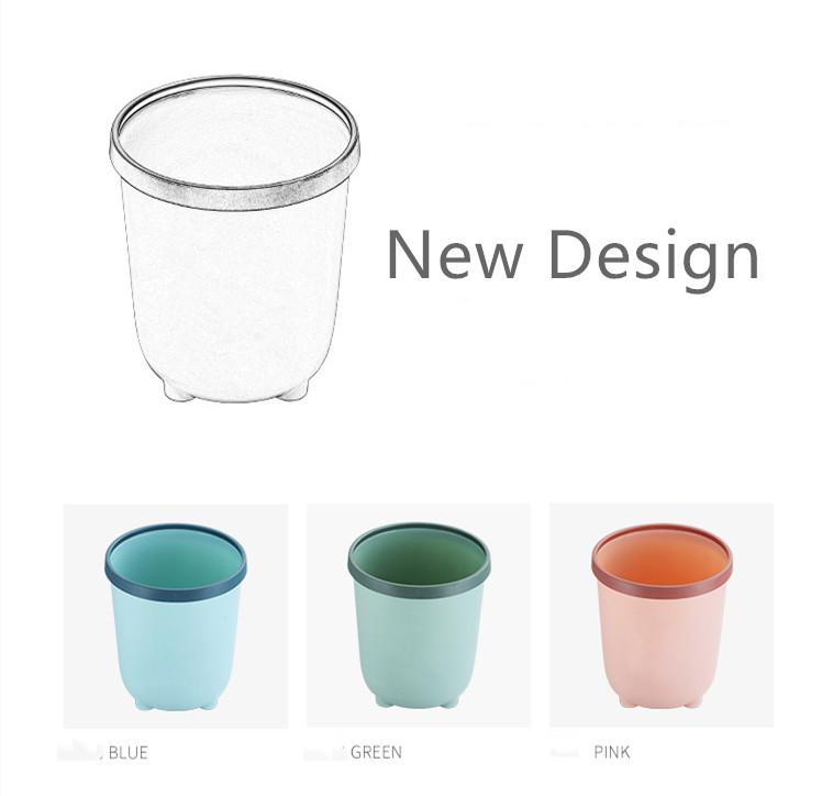 Wholesale New design round plastic trash can-1.20