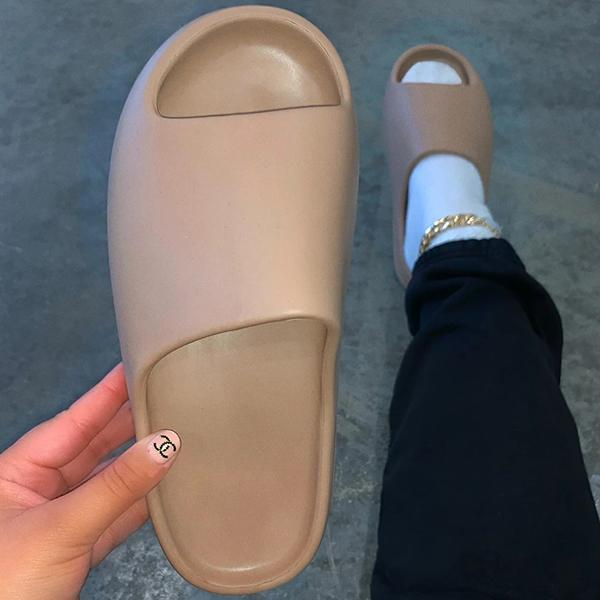 Zoeyootd Fashion Tooth Bottom Slippers