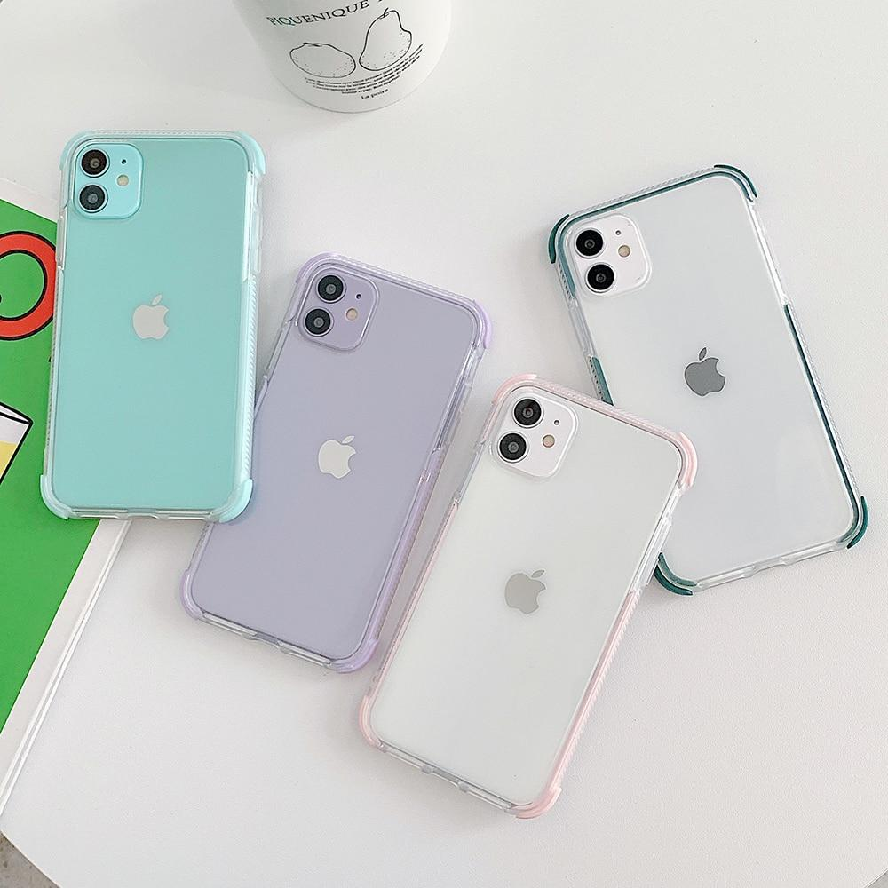 Clear Shockproof Candy Case