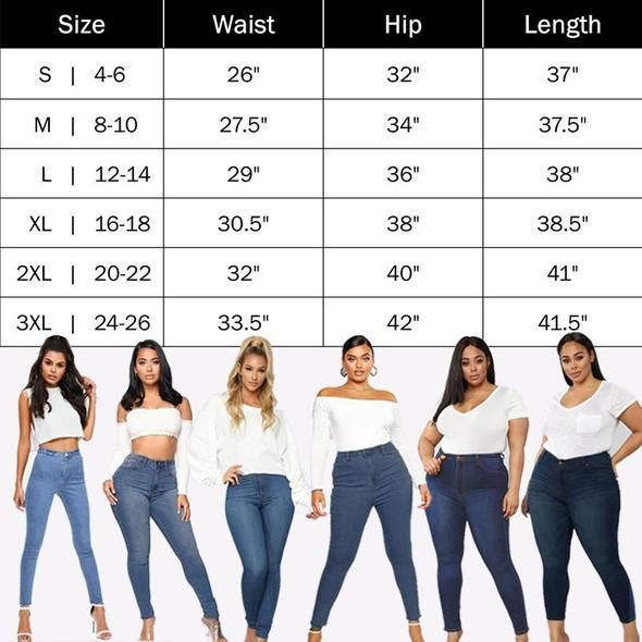 Perfect Fit Skinny Stretch Pull-On Push-Up Plus-Size Denim Jeans Leggings