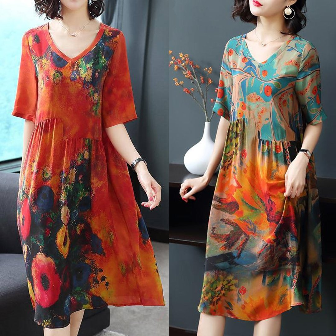 【 Hot Sale 】Newest floral dress from HK IN 2019