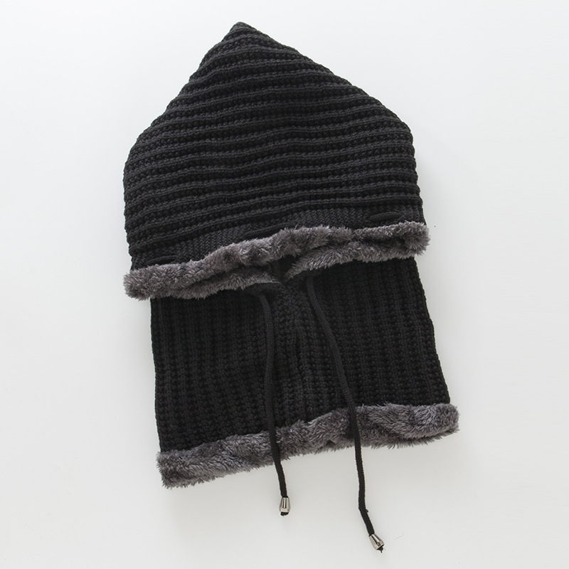 Women's warm bib hat