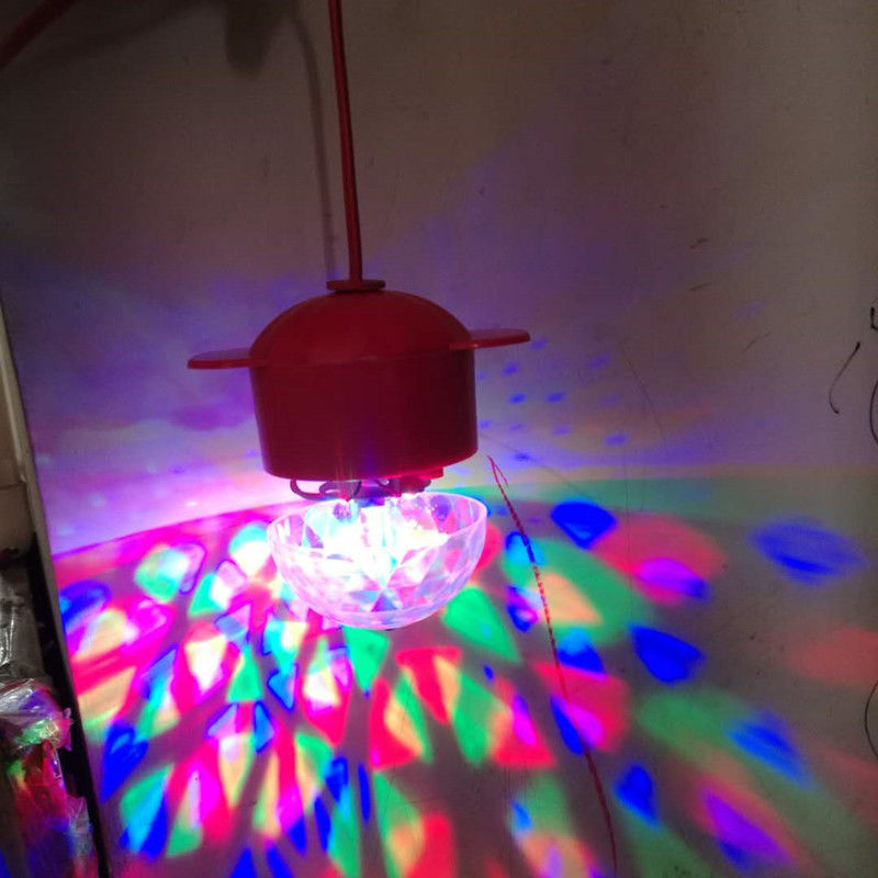 New Year Promotion--Colorful rotating lights(buy more save more)