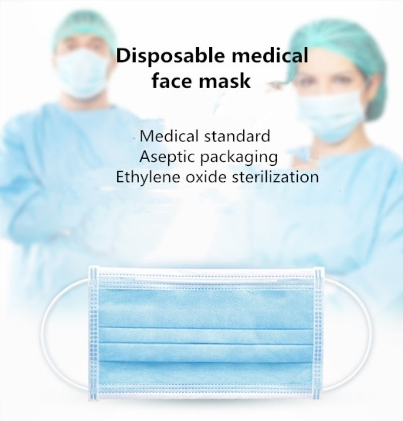 10/20/40/50/100 Pcs Disposable Children's Masks Unisex Adult Masks Comfortable Thick 3-Layer Masks