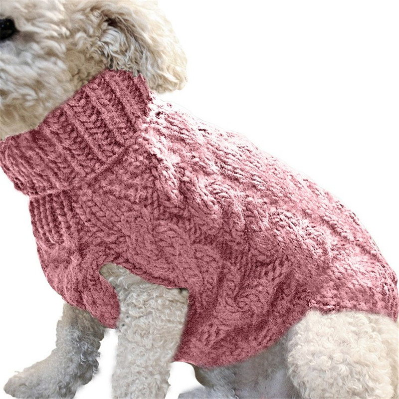 Knitted Pet Sweater For Dog