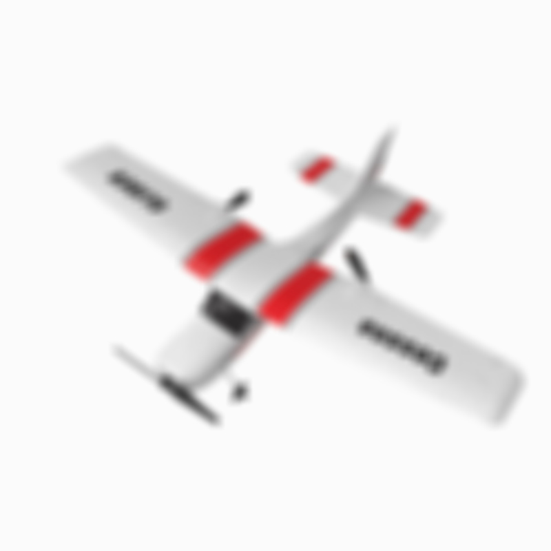 Z53 Medium RC Aircraft Epp Wing Glider Cessna 182t Electric Outdoor RC Aircraft