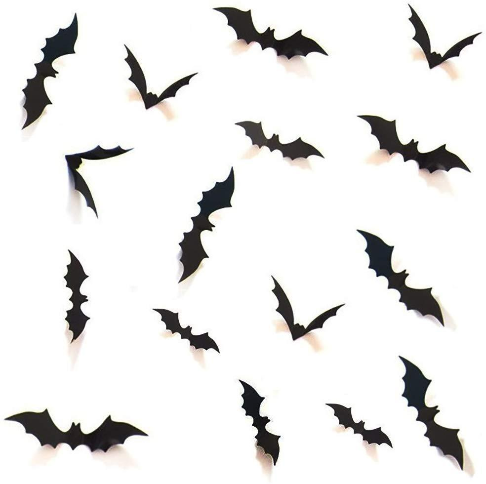 3D Decorative Scary Bats Wall Decal Wall Sticker