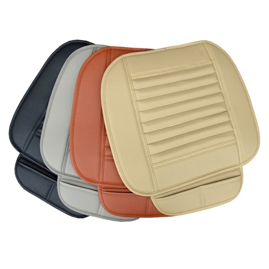 Leather Charcoal Car Seat Cushion-Absorbing odor (Four Seasons Universal)