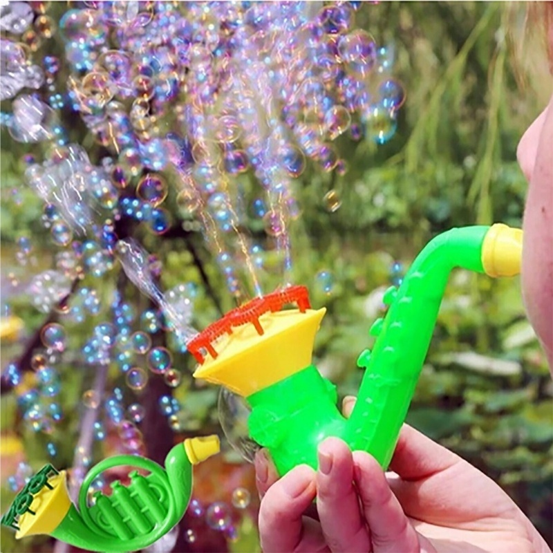 Cute Children Gifts Water Blowing Toys Bubble  Soap Bubble Blower Summer Outdoor Kids Parent-Child Toys