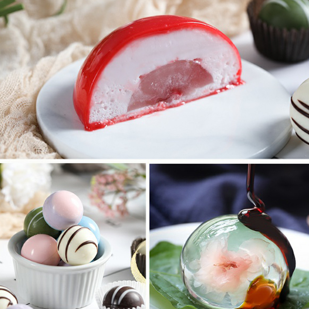 Ball Sphere Silicone Mold For Cake Pastry Baking