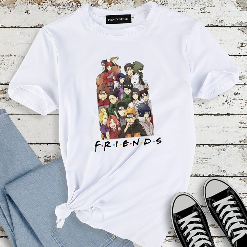 New Fashion Friends Letter Printed T Shirt