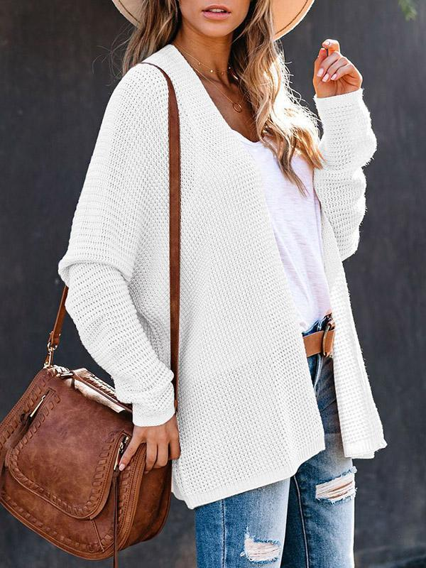 Bonnieshoes Casual Chic Holiday Knitted Jacket