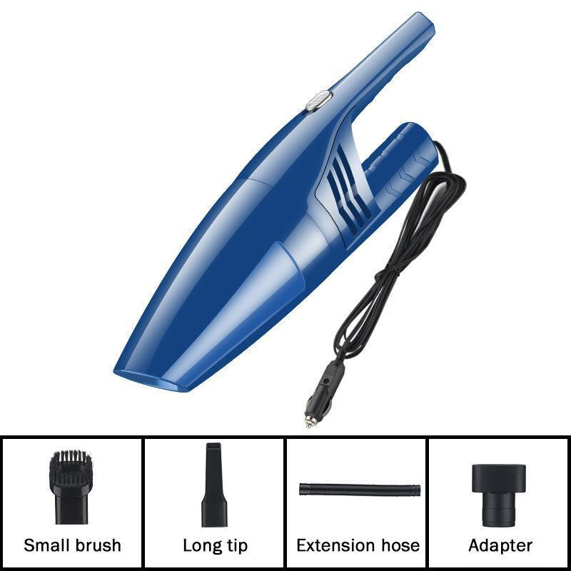 Car Vacuum Cleaner 12V 120W Auto Mini Portable Wet Dry Handheld Duster