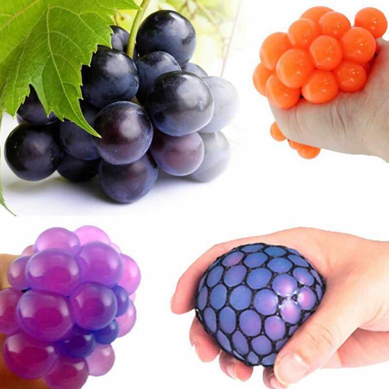 🎄Weihnachten Hot Sales💥Stress Reliver Grape Ball