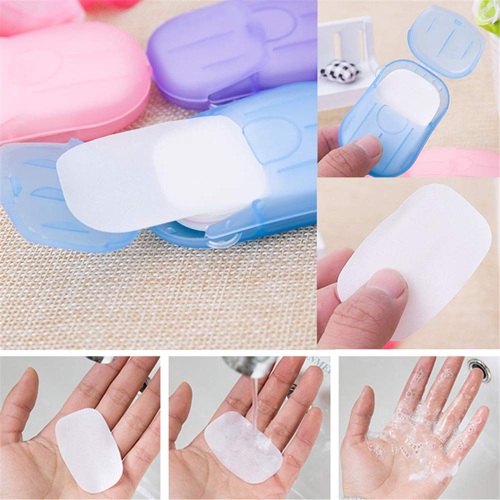 (💥New Year Flash Sale💥50% OFF)Useful Portable Soap Paper(100 sheets)