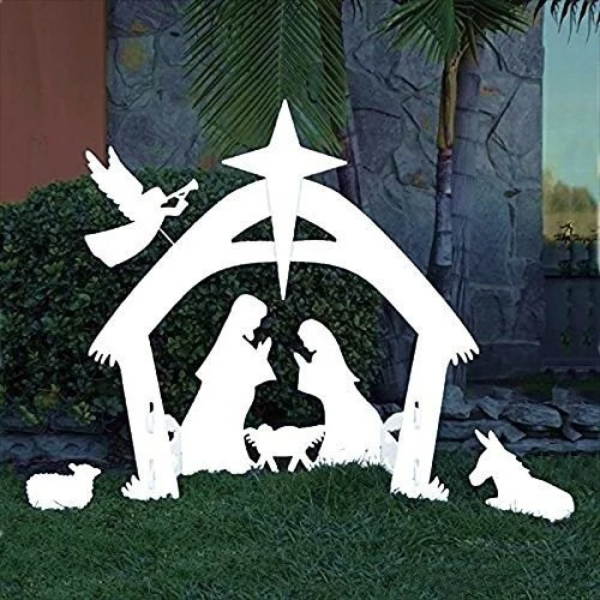 (New Year Promotion-Save 50% Off) Outdoor Nativity Set