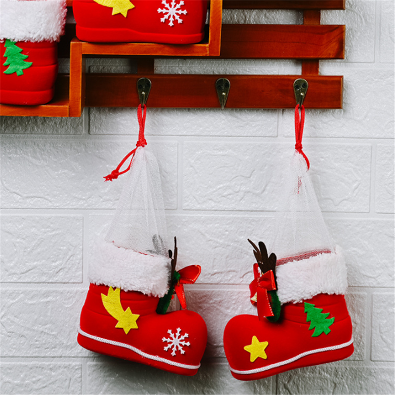 🌟Christmas Hot Sales🌟Candy Boots Box Gift Bags